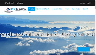 Site internet de Orachrome