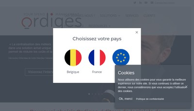 Site internet de Ordiges France
