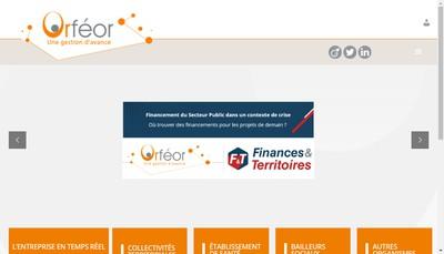Site internet de Orfeor