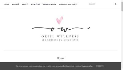 Site internet de Orielwellness