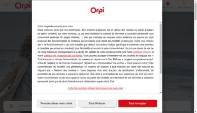 Site internet de Agende du Luy