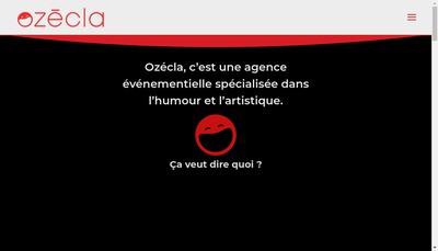 Site internet de Ozecla