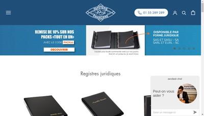 Site internet de Imprimerie Financiere