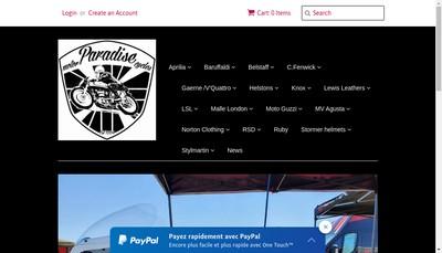 Site internet de Paradise