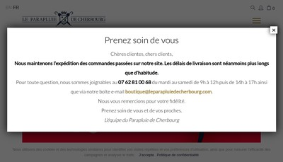 Site internet de Le Veritable Cherbourg