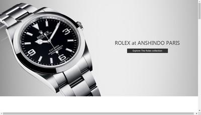 Site internet de Anshindo-Paris