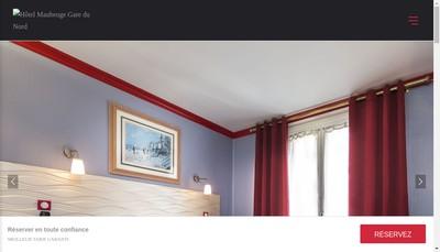 Site internet de Hotel Maubeuge