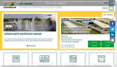 Site internet de Centaure