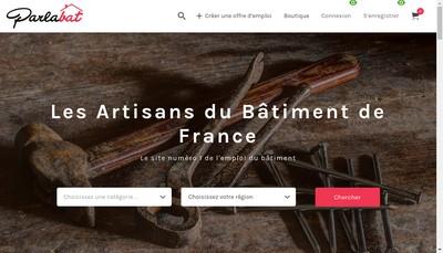 Site internet de Parlabat