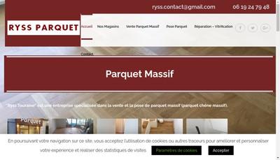 Site internet de Ryss Touraine