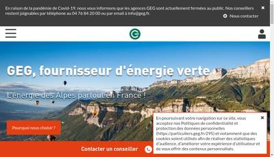 Site internet de Geg Source d'Energies
