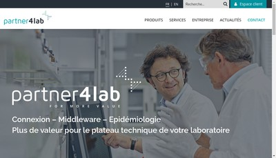 Site internet de Info Partner