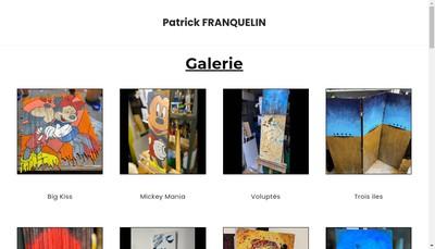 Site internet de Patrick Franquelin