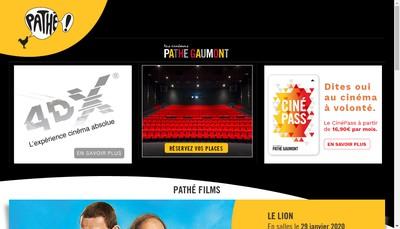 Site internet de Pathe