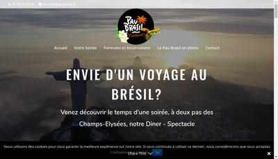 Site internet de Pau Brasil