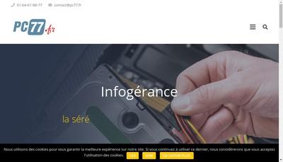 Site internet de Pc 77