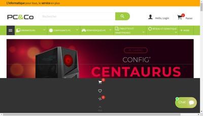 Site internet de Pc And Co