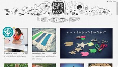 Site internet de Peaceandwool - Peace And Wool