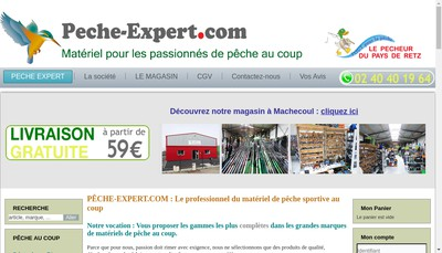 Site internet de Peche-Expert Com