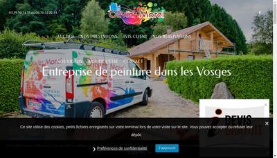 Site internet de Olivier Morel