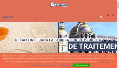 Site internet de Pelicoat France