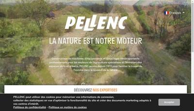 Site internet de Pellenc