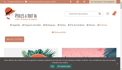 Site internet de Perles a Tout Va