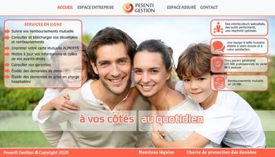 Site internet de Holding Pesenti