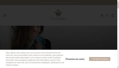Site internet de Petrusse