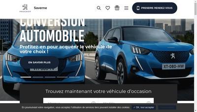 Site internet de Grand Est Automobiles