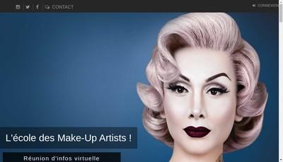 Site internet de Sup Maquillage