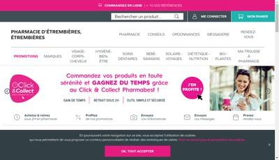 Site internet de Espace Sante d'Etrembieres
