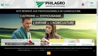 Site internet de Philagro France