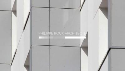Site internet de Philippe Roux - Architecte