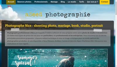 Site internet de Aseed