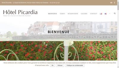 Site internet de Hotel Picardia