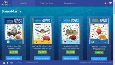 Site internet de Pictolife