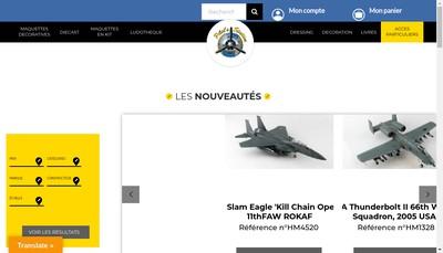 Site internet de Pilot'Station