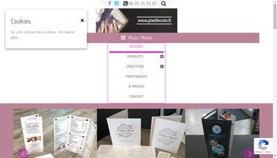 Site internet de Pixellecom