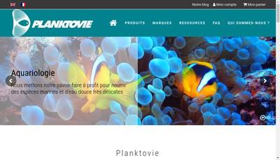 Site internet de Planktovie