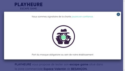 Site internet de Playheure