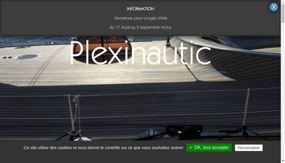 Site internet de Plexinautic