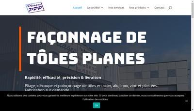 Site internet de SARL Pliages Pissy Povillais
