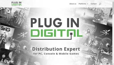 Site internet de Plug-In-Digital