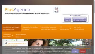 Site internet de Plusangenda