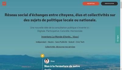 Site internet de Politizr
