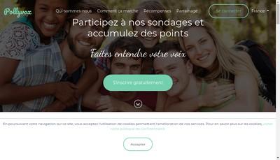 Site internet de Pollyvox
