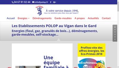 Site internet de Etablissements Polop