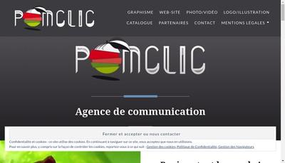 Site internet de Pomclic