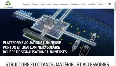 Site internet de Aqua Module